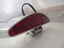 LED rear light solid alloy case chrome streetfighter